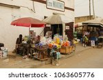 lome togo january 28 2016 view... | Shutterstock . vector #1063605776