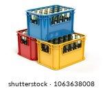 Crates Full Of Beer Bottles...