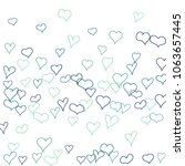 hand drawn hearts. background.  ... | Shutterstock .eps vector #1063657445