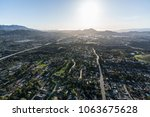 afternoon aerial view of... | Shutterstock . vector #1063675628