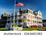 ocean grove  nj  usa july 2 ... | Shutterstock . vector #1063681382