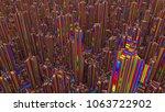 3d illustration of futuristic... | Shutterstock . vector #1063722902