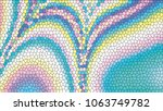 abstract colorful mosaic.... | Shutterstock .eps vector #1063749782