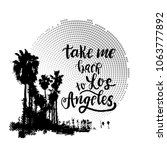 vintage california print with... | Shutterstock .eps vector #1063777892