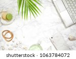 women's fashion accessories ... | Shutterstock . vector #1063784072