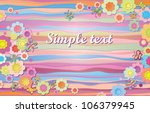 vector horizontal composition.... | Shutterstock .eps vector #106379945