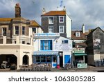 hastings  uk   april 5th  2018  ... | Shutterstock . vector #1063805285