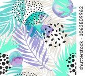 abstract summer seamless... | Shutterstock .eps vector #1063809962