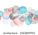 abstract modern seamless... | Shutterstock . vector #1063809992