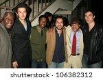 cast and crew of 'machete joe'... | Shutterstock . vector #106382312