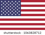 united states of america flag | Shutterstock .eps vector #1063828712