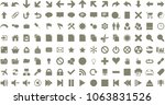 material design solid icons set....