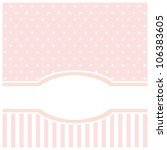 Vector Card Or Invitation For...
