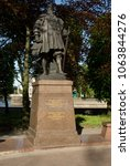 Small photo of Kaliningrad / Russia - May 08, 2008: Monument to Duke Albrecht of Brandenburg-Ansbach - the last Grand master of the Teutonic order and the first Duke of Prussia, the founder of the University