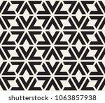 vector seamless pattern. modern ... | Shutterstock .eps vector #1063857938