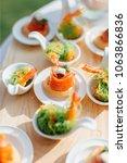food eating dinner | Shutterstock . vector #1063866836