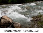 Rugged Mountain River Outdoors