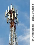 signal towers in remote areas. | Shutterstock . vector #1063892855