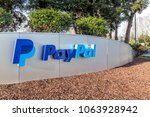 Small photo of San Jose, California, USA - March 30, 2018: Sign of Paypal at Paypal 's headquarters in Silicon Valley. PayPal Holdings, Inc. is an American company operating a worldwide online payments system.