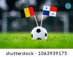 belgium   panama  group g ...   Shutterstock . vector #1063939175