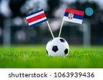 costa rica   serbia  group e ... | Shutterstock . vector #1063939436