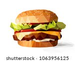 vector illustration of a low... | Shutterstock .eps vector #1063956125