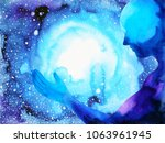 human and spirit powerful... | Shutterstock . vector #1063961945