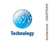 vector logo globe | Shutterstock .eps vector #1063970345