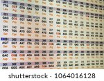genetic code. the sequence of... | Shutterstock . vector #1064016128