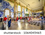 porto  portugal   august 13 ... | Shutterstock . vector #1064045465