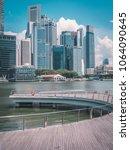 singapore   april 2  2018 ... | Shutterstock . vector #1064090645