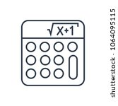 math icon. isolated mathematics ...