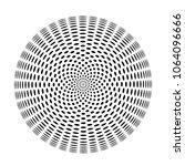 sacred geometry sign sphere of... | Shutterstock . vector #1064096666