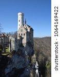 lichtenstein castle  baden... | Shutterstock . vector #1064169422