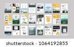 original presentation templates ... | Shutterstock .eps vector #1064192855