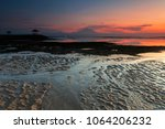 sanur  is a coastal stretch of...   Shutterstock . vector #1064206232
