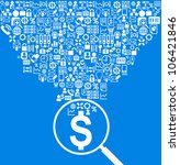vector background of business... | Shutterstock .eps vector #106421846