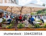santiago  chile  april 6  2018. ... | Shutterstock . vector #1064228516