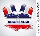 bastille day french celebration | Shutterstock .eps vector #1064243306