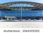 san francisco  california  usa  ... | Shutterstock . vector #1064245202
