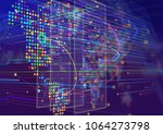 world map infographics. | Shutterstock . vector #1064273798