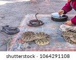 marrakesh  morocco  africa  ... | Shutterstock . vector #1064291108
