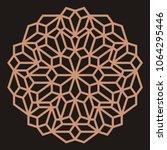 mandala. circular ornament.... | Shutterstock .eps vector #1064295446