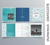 brochure design  brochure... | Shutterstock .eps vector #1064312378