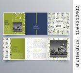 brochure design  brochure... | Shutterstock .eps vector #1064312402