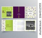 brochure design  brochure... | Shutterstock .eps vector #1064312555