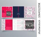 brochure design  brochure... | Shutterstock .eps vector #1064312558