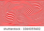illusion stripes  background... | Shutterstock .eps vector #1064355602