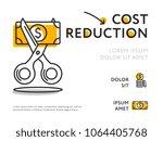 flat design of infographic... | Shutterstock .eps vector #1064405768