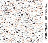 hand drawn seamless pattern.... | Shutterstock .eps vector #1064407262